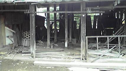 市川市の不用品回収 一戸建て・一軒家まるごと処分の記録 タンス 本棚 不燃ごみ残留物撤去