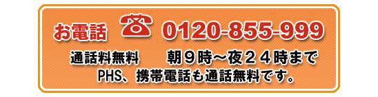 0120-855-999